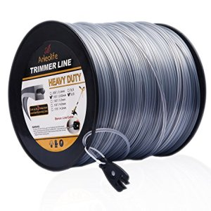 Anleolife 5-Pound Heavy Duty Square .105-Inch-by-1038-ft String Trimmer Line in Spool, with Bonus Line Cutter