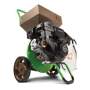 Tazz 22752 K33 Chipper Shredder, 301cc Gas Powered 4-Cycle Viper Engine, 5 Year Warranty,Red/Black