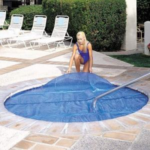 Outdoor Durable Square Hot Tub Cover Solar Spa Blanket Cover 7'x7' Hot Tub Thermal Solar Blanket Cover 15 Mil Any Spa Hot Tub Shape