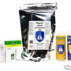 Viagrow VLPTK4 Test Liquid Nutrient Adjusting Solution pH Control Kit