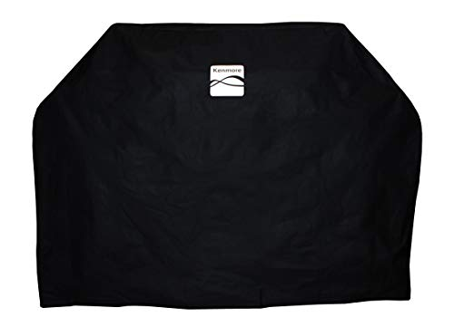"Kenmore PA-20284-AM Grill Cover, Large 65"", Black"