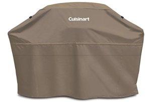 "Cuisinart CGC-60T Heavy-Duty Barbecue Grill Cover, 60"", Tan, Cover-60"