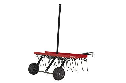 Craftsman CMXGZBF7124315 40 Detatcher Tow Lawn Dethatcher, Red