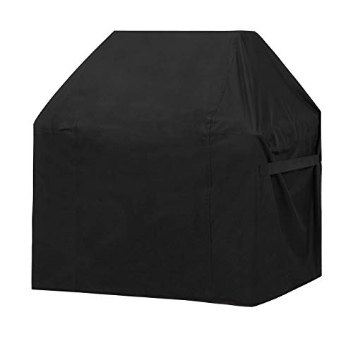 ABO Gear Grill Cover BBQ Cover Grill Covers Heavy Duty Gas Barbeque Grill Cover BBQ Grill Covers, 58 Inch, Black Color