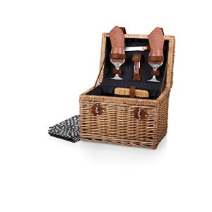 Picnic Time 'Napa' Picnic Basket with Wine and Cheese Service for Two Guarantee: Backed by the Picnic Time Household of Manufacturers BUILT TO LAST Lifetime Pledge to restore or change if faulty for any purpose