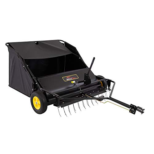Brinly STS-42BHDK Tow-Behind Lawn Sweeper with Dethatcher