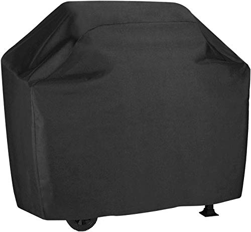 Grill Cover, 58 inch BBQ Gas Grill Cover Waterproof Weather Resistant, UV and Fade Resistant, UV Resistant Materia for Weber Char-Broil Nexgrill Grills and More, VIBOOS