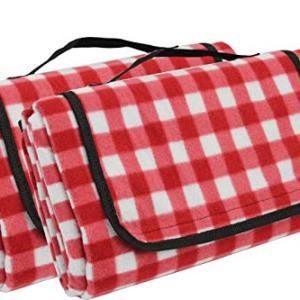 Extra Large Picnic Blanket [2 Pack] | Oversized Beach Blanket Sand Proof | Outdoor Accessory for Handy Waterproof Stadium Mat | Water-Resistant Layer Outdoor Picnics | Camping on Grass and Portable