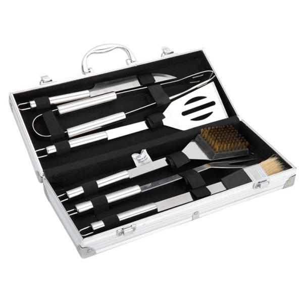 6Pcs/Set Outdoor Portable Barbecue 6-piece Set Grill Cookware
