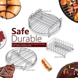 6 In 1 Practical Multifunctional Air Fryer Accessories Set