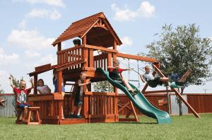 fort davis, lemonade, porch, stools, wooden swing set, swing set, swings, slide, swing set for kids, kids, children, play, playground, playset, sets, accessories, backyard swing set
