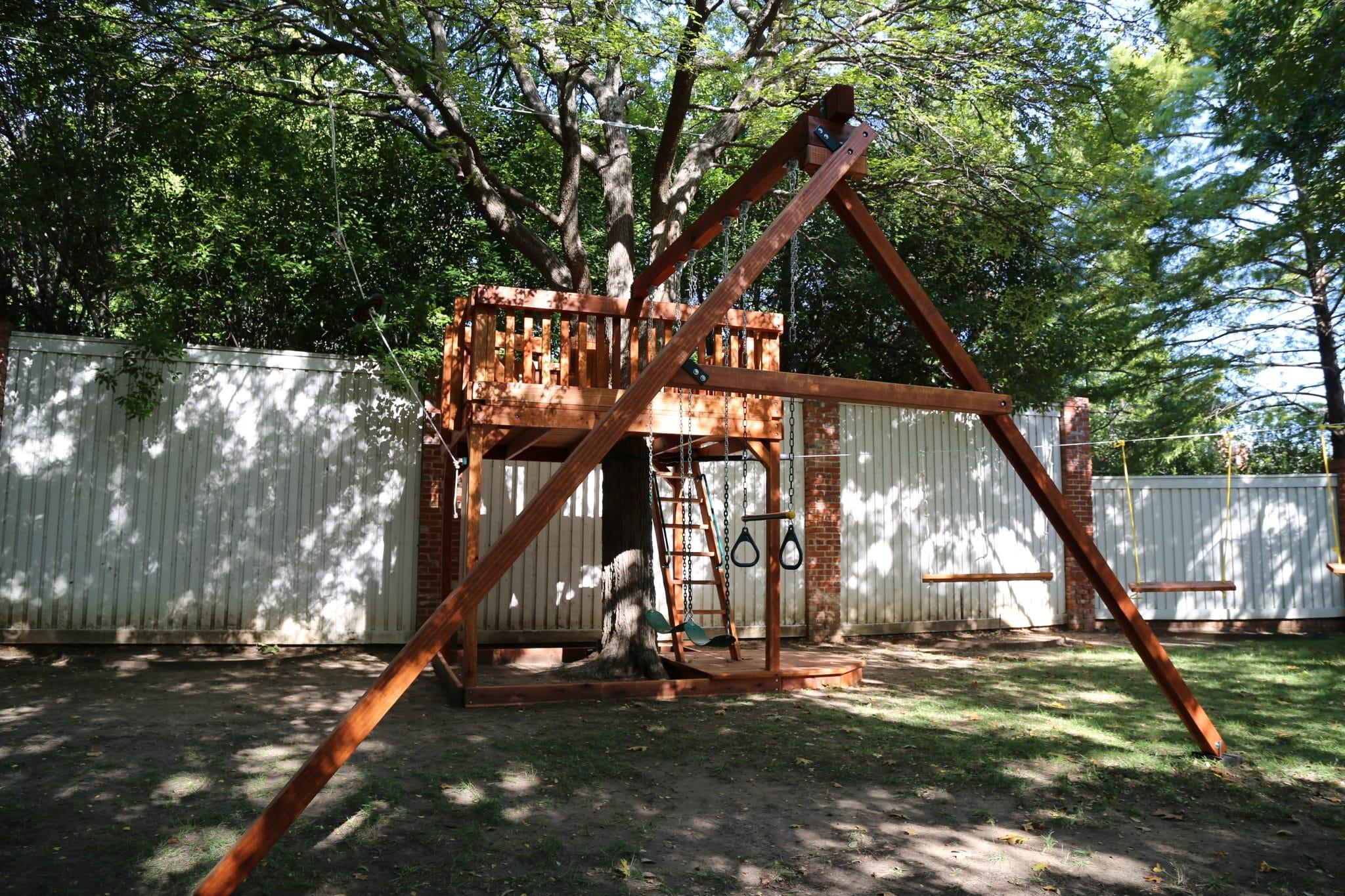 Custom Tree Decks - Custom Tree Houses | Backyard Fun Factory
