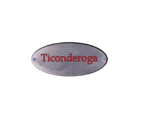name-plate-ticonderoga1