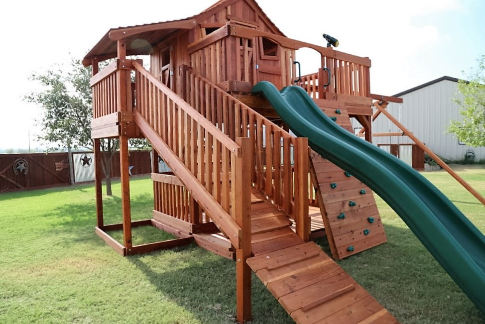 Why Redwood Swing Sets?