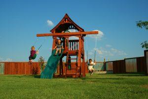 fun shack, punching bag, wooden swing set, swing set, swings, slide, swing set for kids, kids, children, play, playground, playset, sets, accessories, backyard swing set