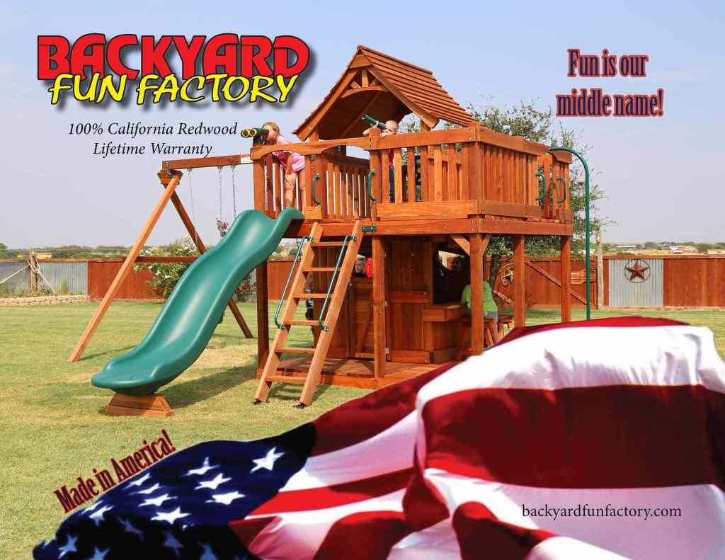 Why is made in the usa so great backyard fun factory another huge plus to buying american made is that products made overseas have a higher carbon footprint than american made goods sciox Gallery