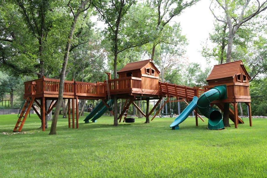 Custom Swing Set Designs For Children