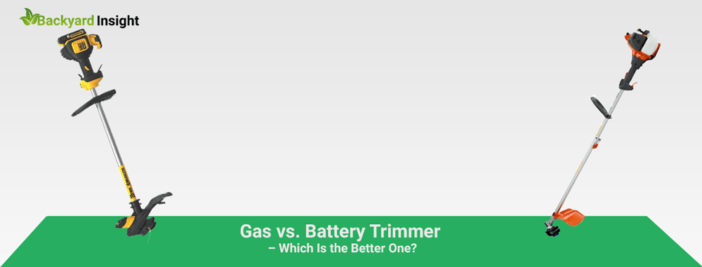 Gas vs. Battery Trimmer – Which Is the Better One?