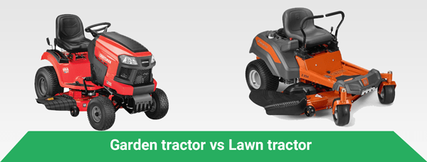 Garden Tractor Vs Lawn Tractor Backyard Insight