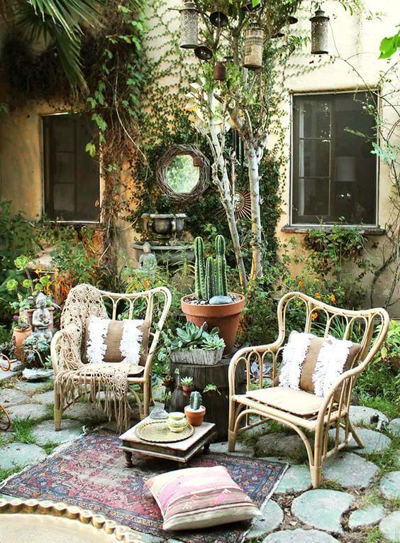31 boho outdoor decor and design concepts