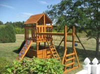 Build Childrens Playset Plans DIY PDF kids wood project ...