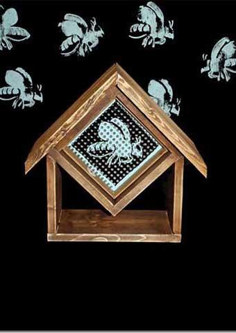 Backyard Pollinator Bee Barn