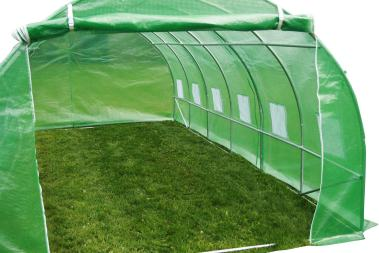 How To Build a Mini Polytunnel. 1