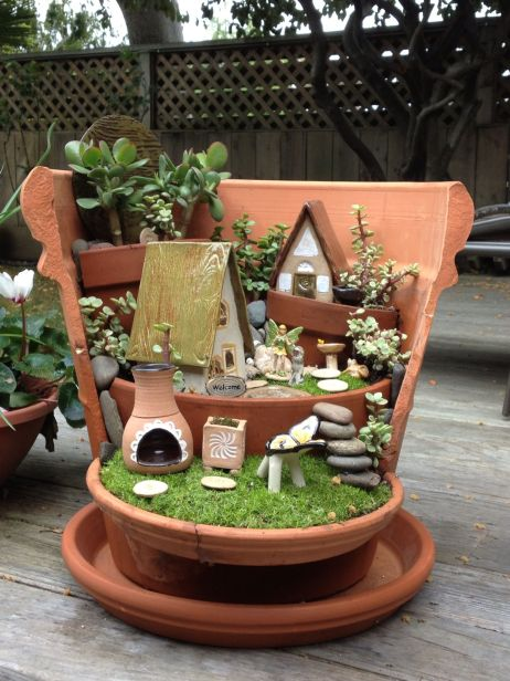 Amazing DIY Miniature Fairy Garden Ideas & Plan in a Simplified Guide 7
