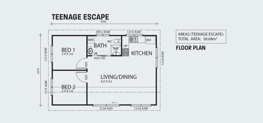 medium resolution of teenage escape r58 floorplan