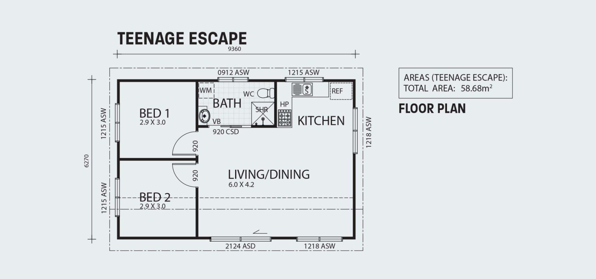 hight resolution of teenage escape r58 floorplan