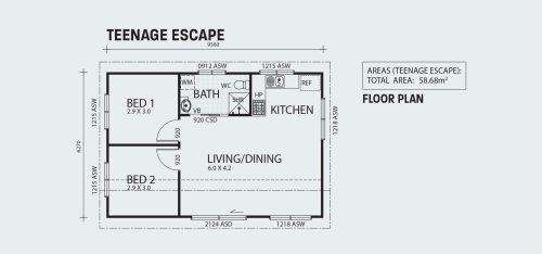 small resolution of teenage escape r58 floorplan