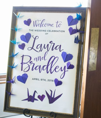 The decorations and final touches at Mauh-Nah-Tee-See Country Club for Laura and Brad's Spring wedding.