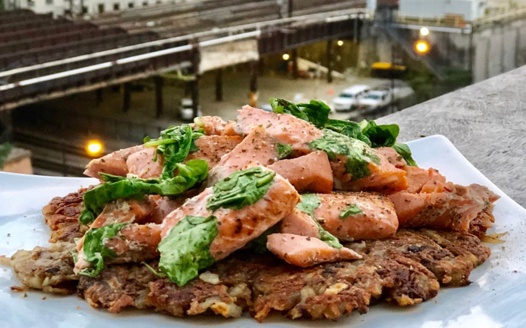 Potato Fish Pancake