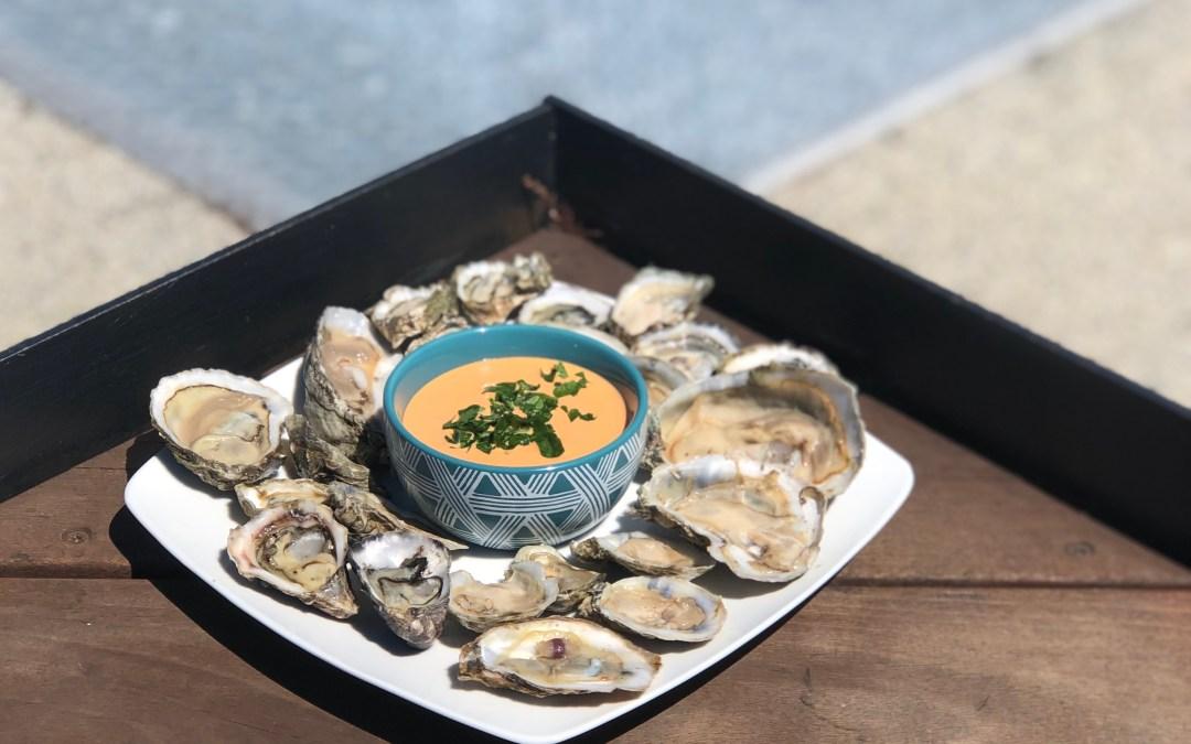 Oysters w/ Spicy Aioli