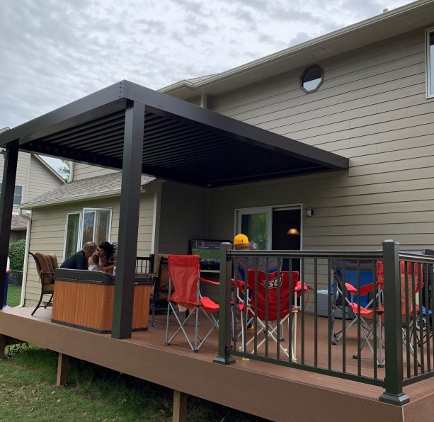 a guide to louvered roofs