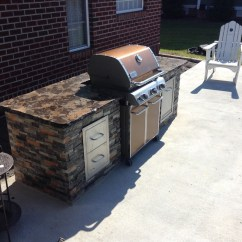 Prefab Outdoor Kitchens French Country Lighting Fixtures Kitchen Custom Vs What Do They Cost