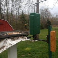 New Bird Photo Booth setup