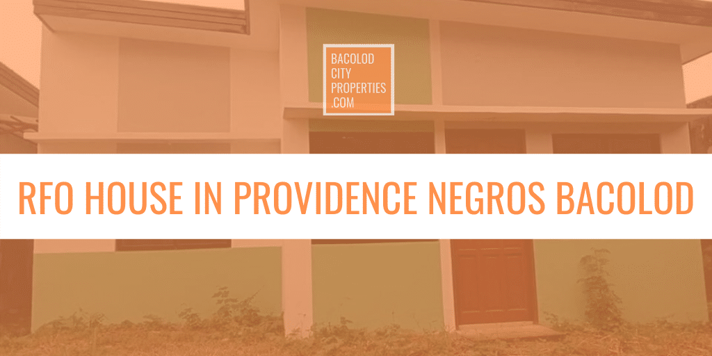 RFO Providence Negros featured image