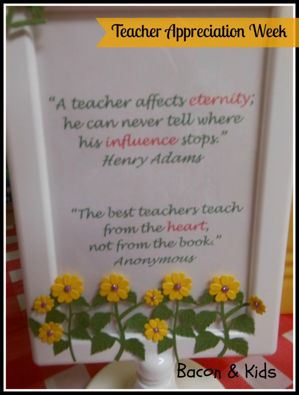 Teacher Appreciation Quotes and Sayings