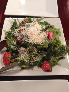 Alor Kale Salad with parmesan and anchovy dressing absolute hands down favorite salad ever