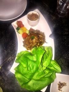 Xixa Braised Duck Lettuce Wraps