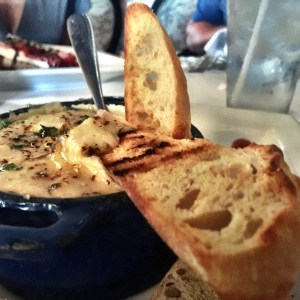 warm whitefish dip at Bluefish