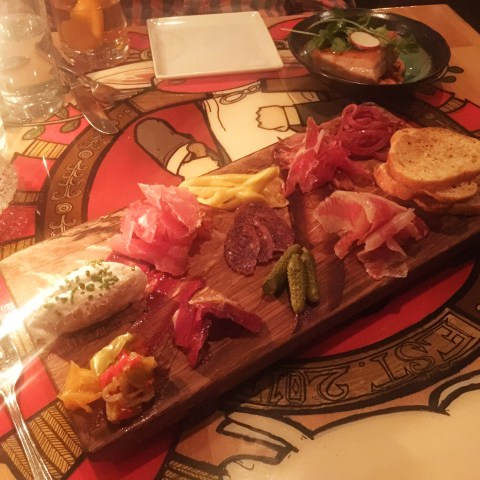 charcuterie at butcher and the rye, pittsburg