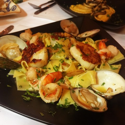 cucina fresca frutti di mare