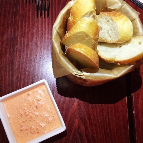 Cebu Bread and Red Pepper Dip