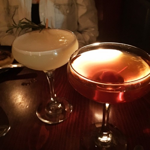 Cebu Cocktails Manhattan and Egg White cocktail