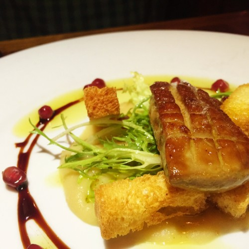 Seared Foie Gras at French Louie