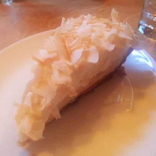 Coconut Cream Pie at Prime Meats