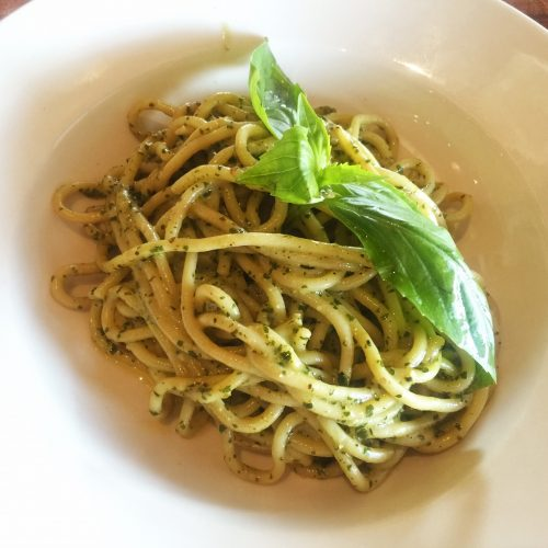 Capizzi Spaghetti Al Pesto