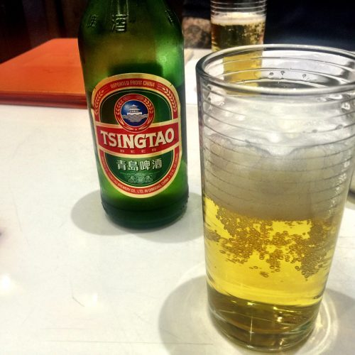 Tsingtao Beer at Bite of Hong Kong